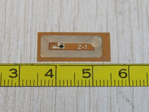 RFID Clear Tag Inlay