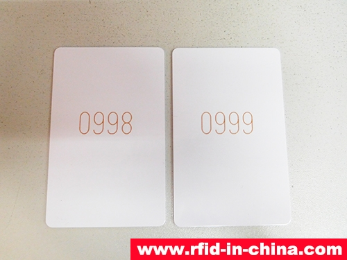 RFID Card With Laser Codes-01
