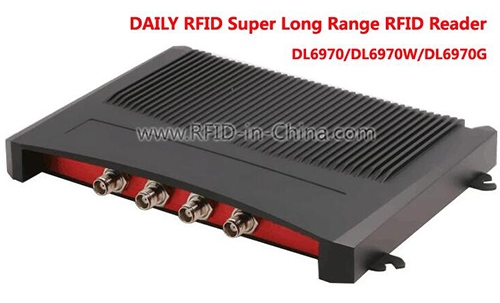 GPRS UHF Super Long Range RFID Reader-DL6970G-01
