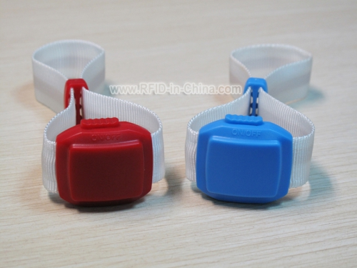 Bluetooth & RFID LED Wristband-02