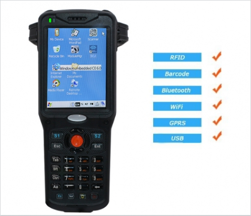 Industrial PDA UHF Handheld Reader DL1080-01