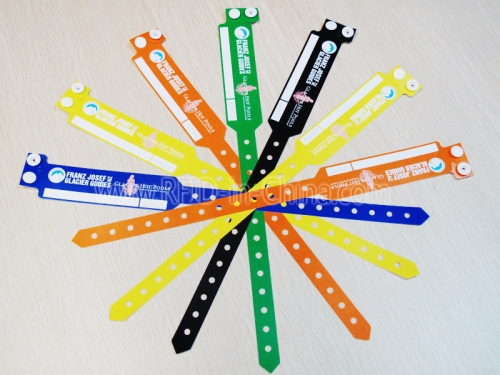 Customized RFID Paper Wristbands In Different Colors-03