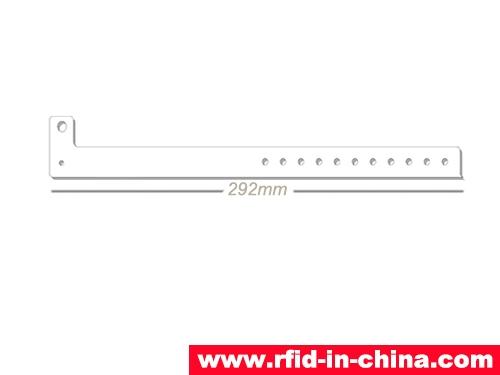 Paper Tyvek Hospital RFID Wristband-75-02