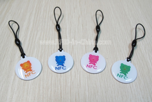 NFC Hang Tags for Mobiles & Tablets