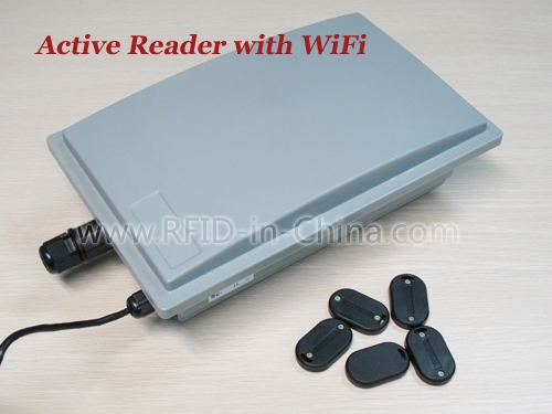 Active RFID Reader with WiFi - DL9230W