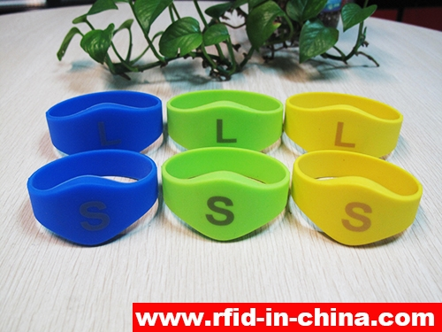 Laser Printing LF/HF RFID Silicon Wristbands-70-02