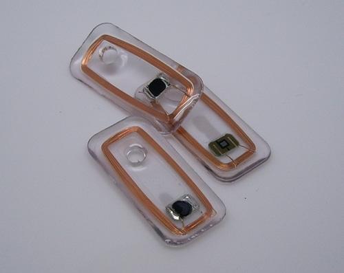 clear Jewelry RFID tag