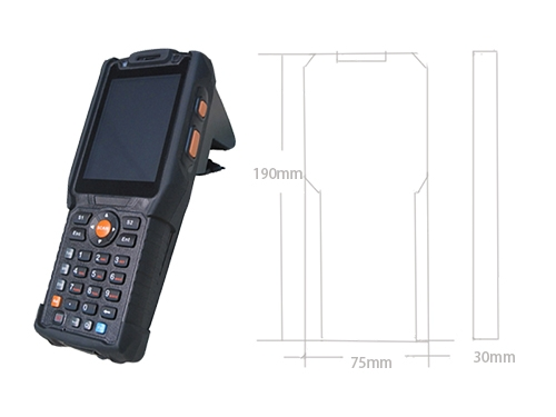 Android OS RFID Handheld Reader Which Used For Industrial Aplication  -01