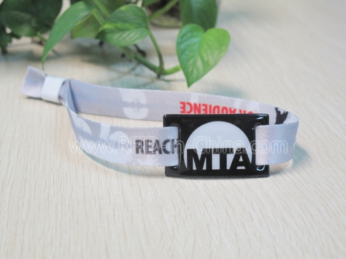 RFID Fabric Wristbands with Stand Wearing & Tearing-02