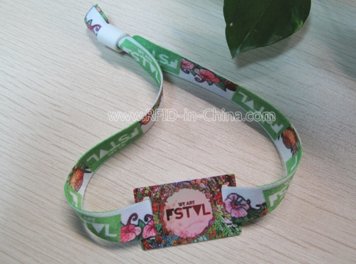 Fabric Wristbands-37 with RFID Function