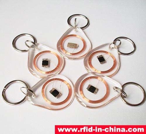 Crystal RFID Key Fob-01