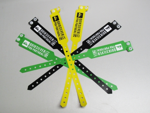 One-off RFID Paper Wristbands With Customized Design-01