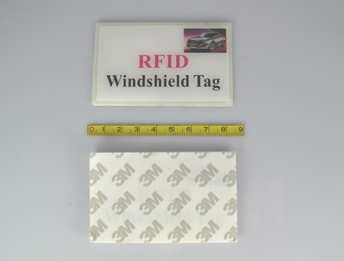 windshield RFID tag with logo