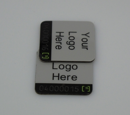 Metal RFID tag for cellphone