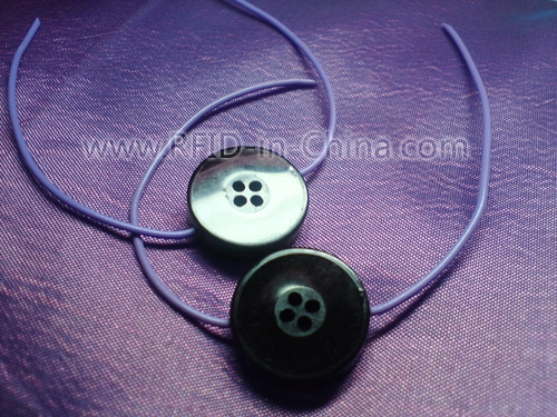 Waterproof RFID Button Laundry Tag-01