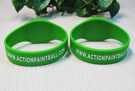 Waterproof Silicone RFID Wristbands with Printing