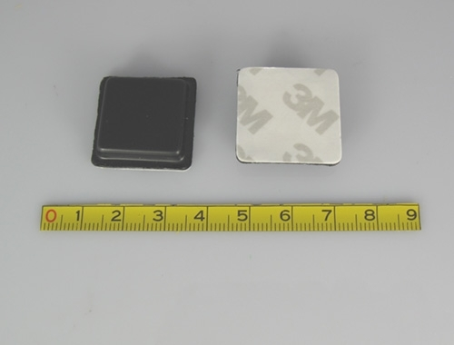 a front and back view of UHF Metal Tag-14
