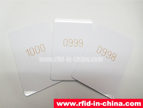 RFID Card With Laser Codes-02