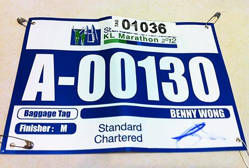 RFID Paper Race Number Label-02
