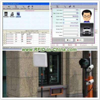 rfid car parking system
