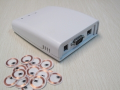 TCP/IP RFID data collector with read and write features