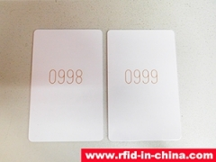 DAILY RFID released the RFID Laser Printed Card