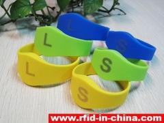 13.56MHz RFID Laser Printing Bracelet released by DAILY RFID