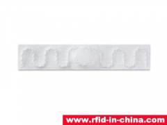 RFID adhesive laundry tag for industrial laundry management which released by DAILY RFID