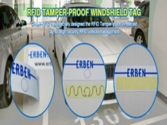 DAILY RFID released the newly UHF Temper Proof Paper Tag for vehicle