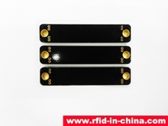 The UHF passive RFID apply in number plate tracing