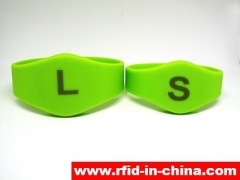 RAILY RFID released the newly Laser printing RFID Silicone wristband India