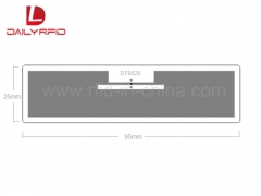 DAILY RFID Released the UHF RFID DT9525 Anti-metal Tag with low price