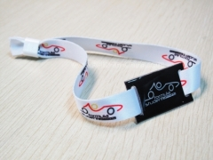 DAILY RFID Released the new RFID Wear Resistance Fabric Wristband